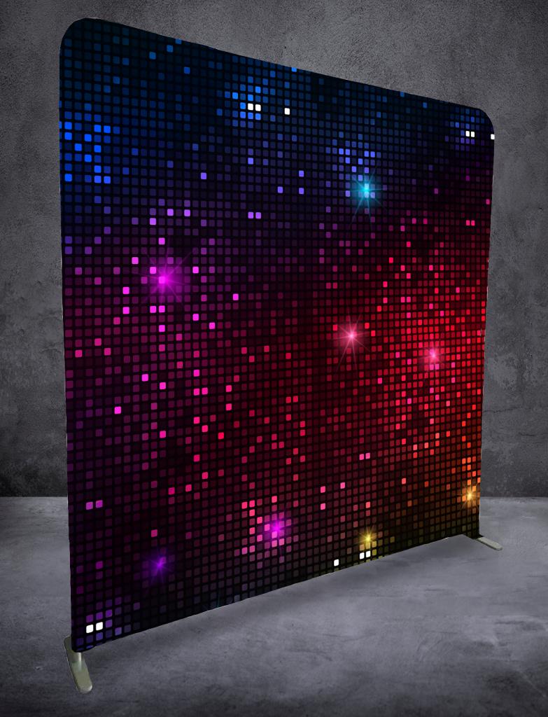 Glittriga kuber bakgrund-Tillval